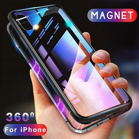 Imagem de Capa Case Magnético Anti Impacto Samsung Galaxy S9 Plus - Preto