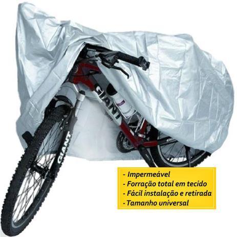 Imagem de Capa Cobrir Bicicleta Impermeável Forro Total Tamanho único.