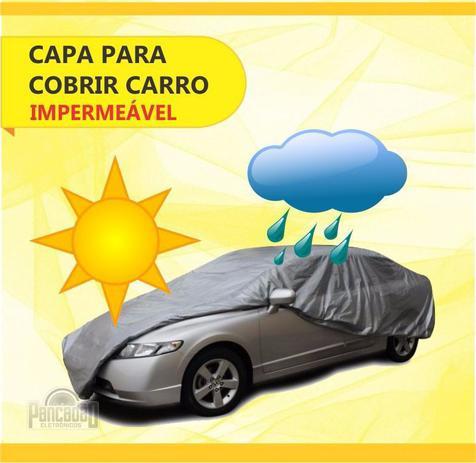 Imagem de Capa Cobrir Carro Carrhel 100% Impermeavel Forrada P M G