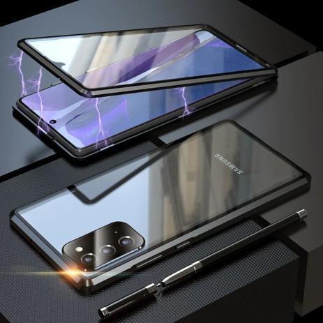 Imagem de Capa Crystal Magnética Samsung Galaxy M51  Preto