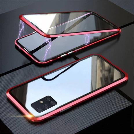 Imagem de Capa Crystal Magnética Samsung Galaxy S10 Lite  Vermelho
