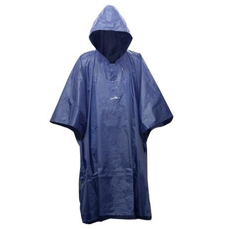 Imagem de Capa de Chuva Impermeável Poncho Adulto Caçador NTK Azul