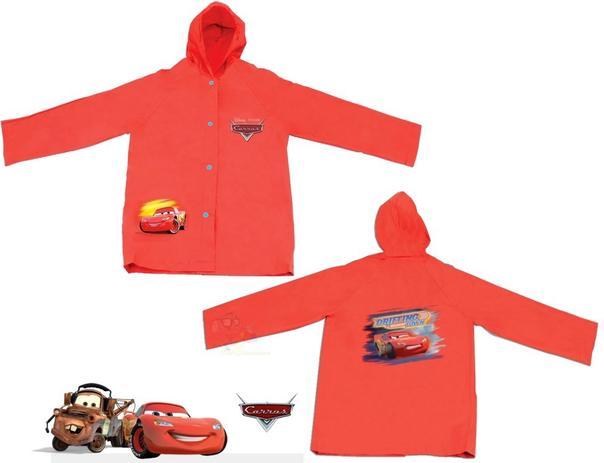 Imagem de Capa De Chuva Infantil Carros Cars Mcqueen com Touca M