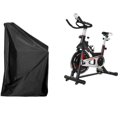 Imagem de Capa de proteção Bicicleta Ergométrica Pelegrin PEL2313 Impermeável UV