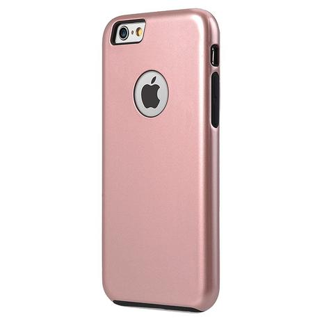 6950a46a829 Capa Dual Armour Anti-Impacto Ikase Apple iPhone 6 6S - Rosa ...