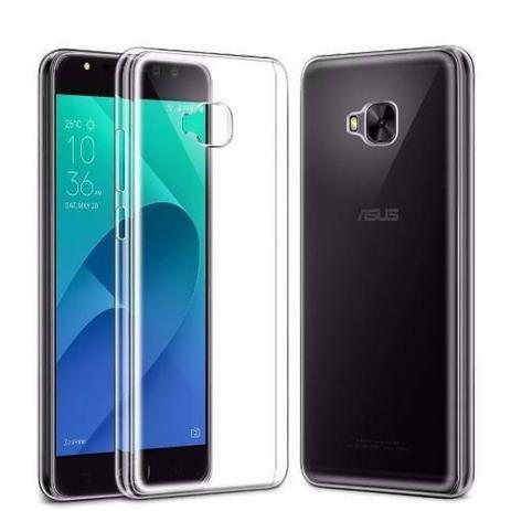 46de40ccb Capa Em Silicone Asus Zenfone 4 Selfie Zd553kl Zb553kl + Película de Gel  Tela Toda - Oem
