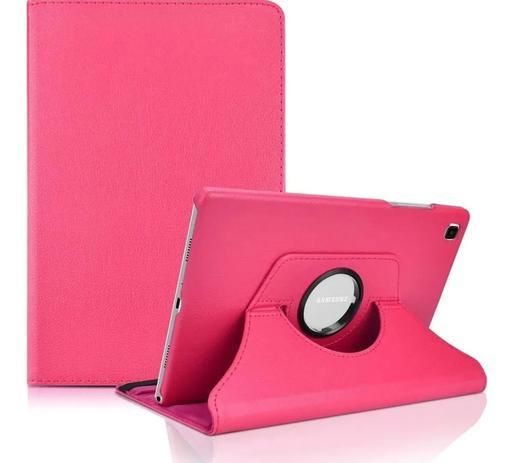 Imagem de Capa Giratória Tablet Galaxy Tab A7 10.4 (2020) T500 / T505 Rosa pink