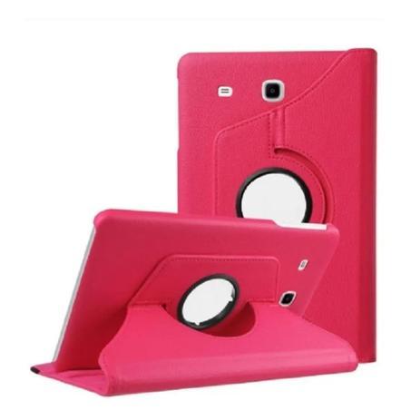 Imagem de Capa Giratória Tablet T280 T285 Rosa pink