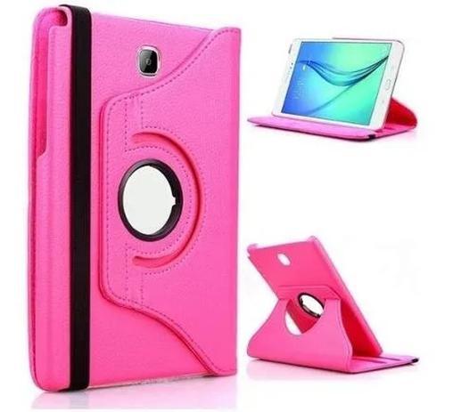 Imagem de Capa Giratória Tablet T350 T355 Rosa pink