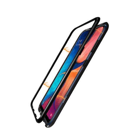 Imagem de Capa Metálica Magnética Samsung Galaxy A20 e A30 Preto - WW