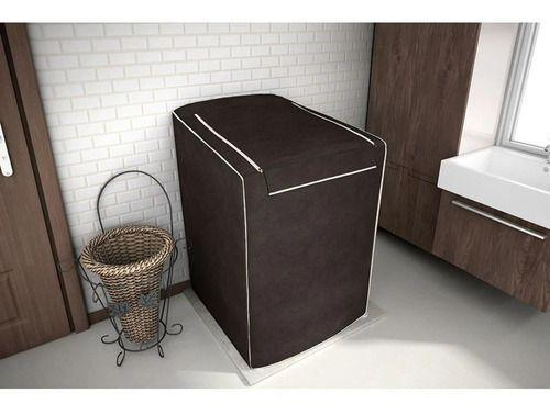 Imagem de Capa P Maquina De Lavar P Brastemp / Electrolux / Consul 12kg 15kg 16kg Com Zíper Marron
