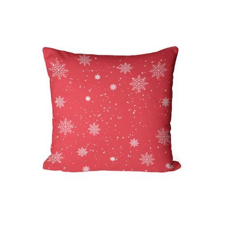 Imagem de Capa Para Almofada Decorativa de Natal Vermelha