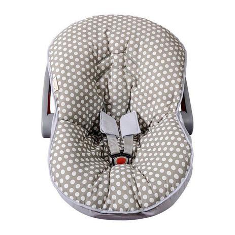 Imagem de Capa para Bebê Conforto Cinza - 3 Peças