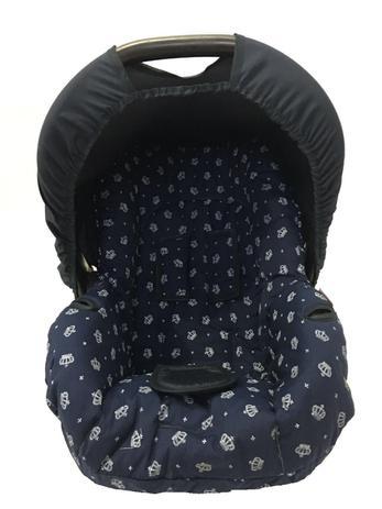 Imagem de Capa para Bebê Conforto Coroa Marinho