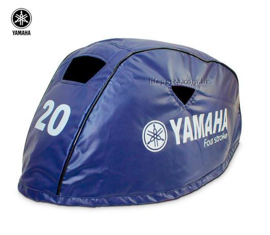 Capa Para Capô De Motor De Popa Yamaha F20 HP - 4 Tempos - Life pesca