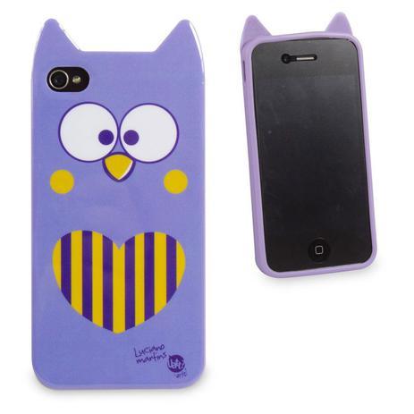 d59b5f739ef Capa para Celular Iphone 4 Animal - Coruja - Uatt - Capinha de ...