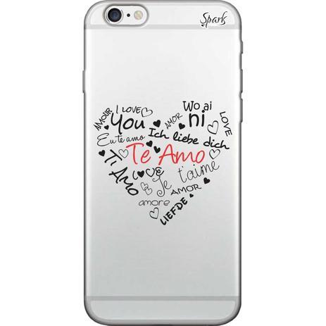 Imagem de Capa para Celular Motorola Moto G6 Plus - Spark Cases - Amor em Todas as Linguas