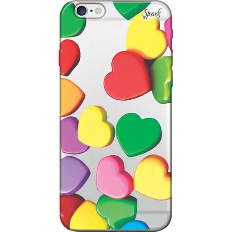 Imagem de Capa para Celular Samsung J2 Prime - Spark Cases - Corações Coloridos