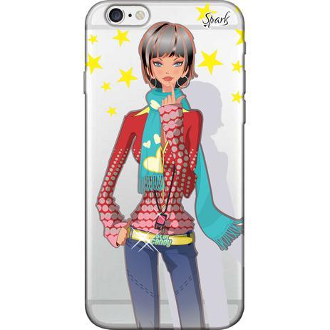 Imagem de Capa para Celular Samsung J2 Prime - Spark Cases - Garota Moderna