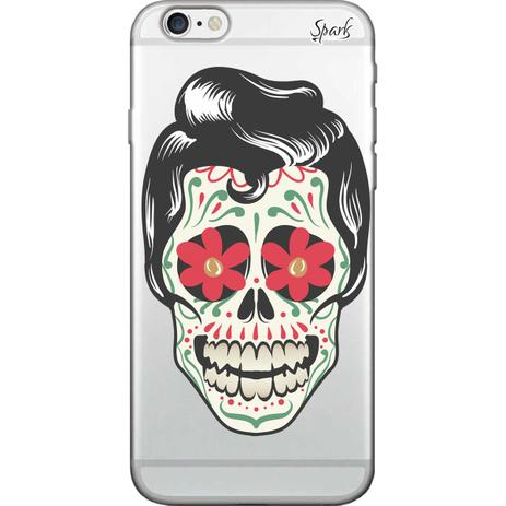 Imagem de Capa para Celular Samsung J2 Prime - Spark Cases - La Santa Muerte Hombre