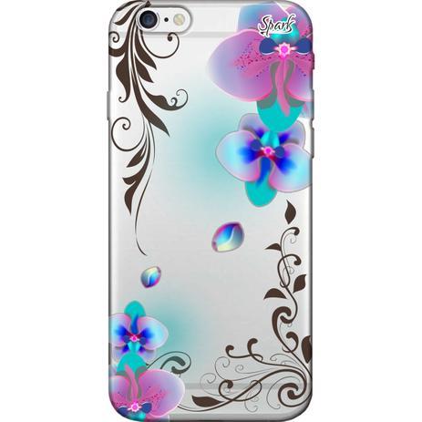 Imagem de Capa para Celular Samsung J2 Prime - Spark Cases - Orquídea Azul e Rosa