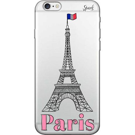 Imagem de Capa para Celular Samsung J2 Prime - Spark Cases - Torre Effel Cinza