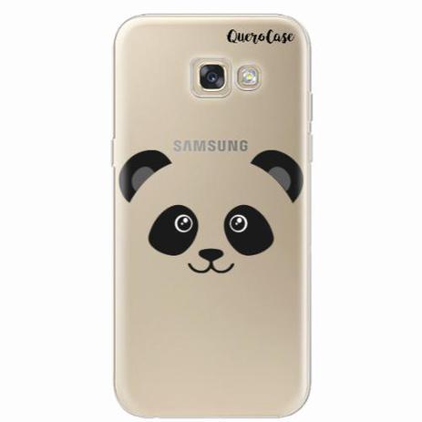 Imagem de Capa para Galaxy A7 2017 Panda Face Macho