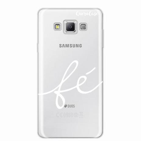Imagem de Capa para Galaxy A7 Fé Branco