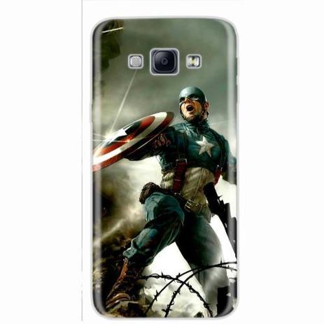 Imagem de Capa para Galaxy A8 Capitão América 04