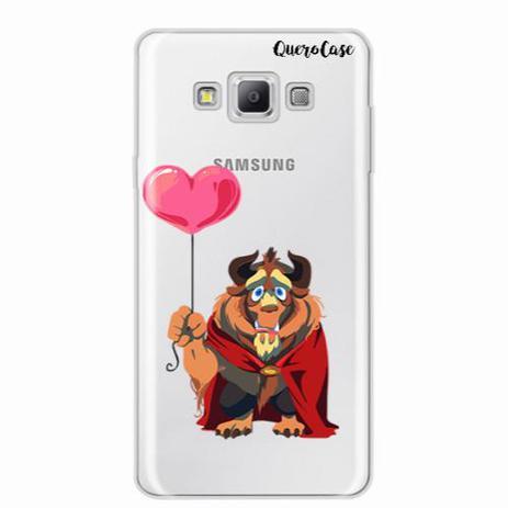 Imagem de Capa para Galaxy A8 Fera Transparente