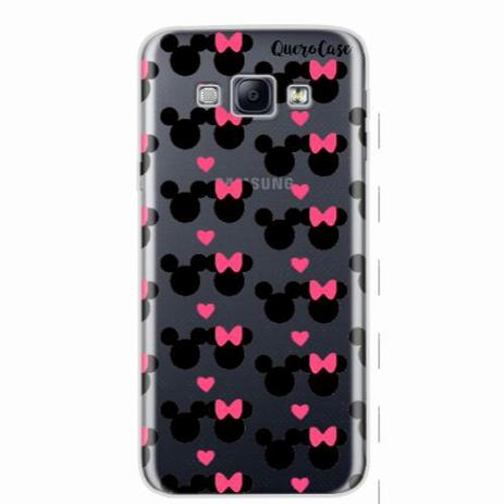 53233830c16 Capa para Galaxy A8 Mickey e Minnie 05 - Quero case - Capinha de ...