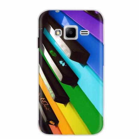 e3938922577 Capa para Galaxy J1 Mini Prime Piano Art 02 - Quero case - Capas ...
