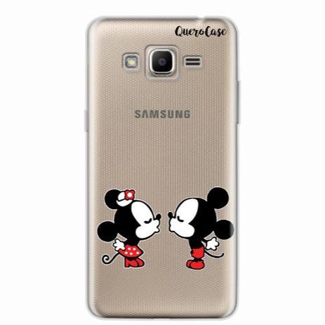40a9aa17342 Capa para Galaxy J2 Prime Mickey e Minnie 07 - Quero case - Capinha ...