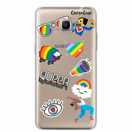 c60de96212a Capa para Galaxy J2 Prime Pride Sticker Transparente - Quero case ...