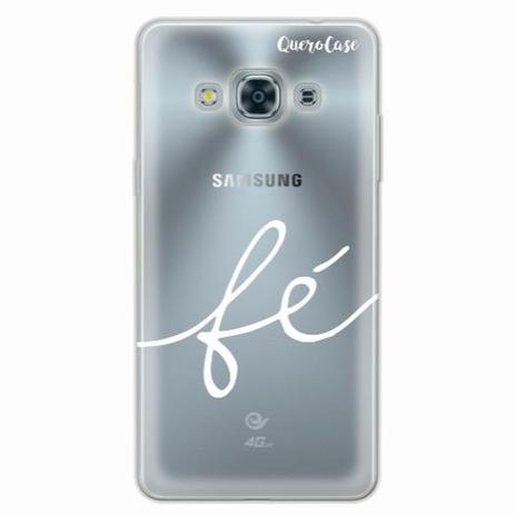 Capa para Galaxy J3 Pro Fé Branco - Quero case