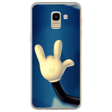 Imagem de Capa para Galaxy J6 - Mickey  Mão