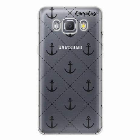 c8e7677b573 Capa para Galaxy J7 Metal Âncoras Transparente - Quero case ...
