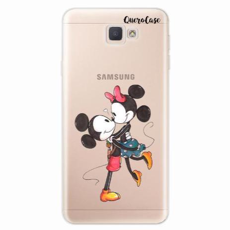 c171a3b5d75 Capa para Galaxy J7 Prime Mickey e Minnie 06 - Quero case - Capinha ...