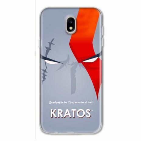 Imagem de Capa para Galaxy J7 Pro God of War Kratos 03