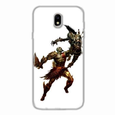 Imagem de Capa para Galaxy J7 Pro God of War Kratos 04