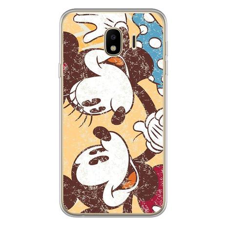 Capa Para Galaxy J7 Pro Minnie E Mickey Desenho Mycase