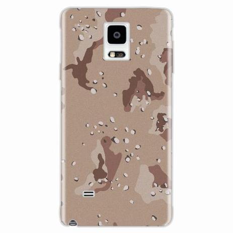 Imagem de Capa para Galaxy Note 4 Desert Camouflage
