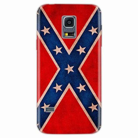 Imagem de Capa para Galaxy S5 Mini Bandeira Confederados Sulistas