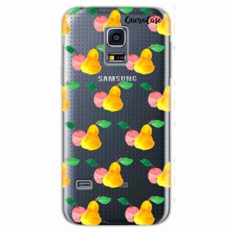 Imagem de Capa para Galaxy S5 Mini Maçãs e Pêras
