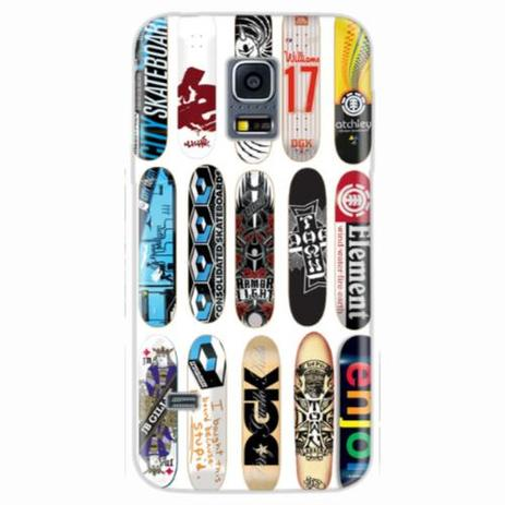 Imagem de Capa para Galaxy S5 Mini Shapes Skate