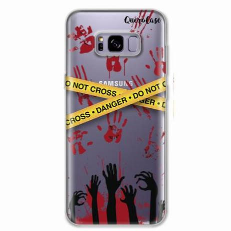 ff0d5bb42 Capa para Galaxy S8 Plus Walking Dead - Apocalipse Zumbi - Quero case