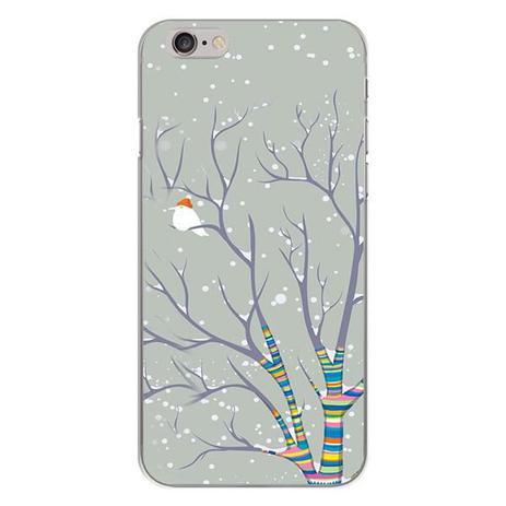 Imagem de Capa para iPhone 4 e 4S - Passarinho na Neve