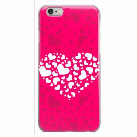5505861b96b Capa para iPhone 6/6S Plus Coração Pink Love - Quero case - Capinha ...