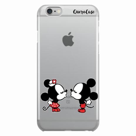 c191e071680 Capa para iPhone 6/6S Plus Mickey e Minnie 07 - Quero case - Capinha ...
