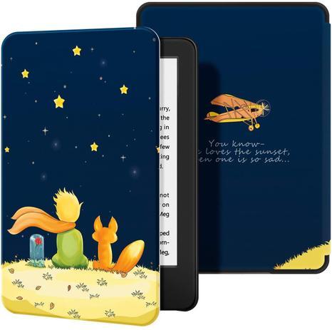 Imagem de Capa para Kindle da 10 geração iluminação embutida - FIT rígida - tampa magnética